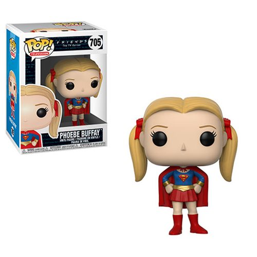 Friends Phoebe Buffay as Supergirl Pop! Figure, Not Mint