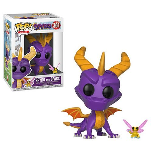 Spyro the Dragon and Sparx Pop! Vinyl Figure and Buddy #361