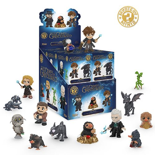 Fantastic Beasts 2 Mystery Minis Display Case