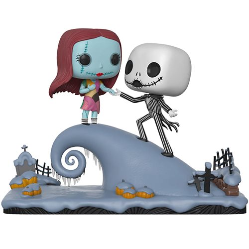 NBX Jack and Sally Hill Pop! Vinyl Figure Movie Moments