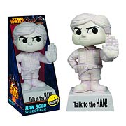 Star Wars Han Solo Wisecracks Talk to the Han Vinyl Figure