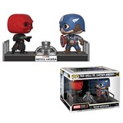 Captain America and Red Skull Pop! Vinyl Movie Moments