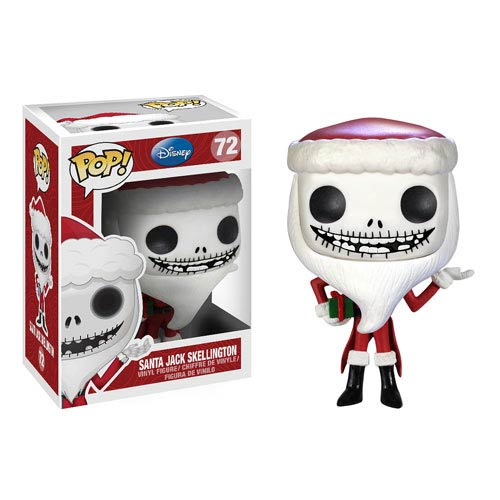 Nightmare Before Christmas Santa Jack Pop! Vinyl Figure