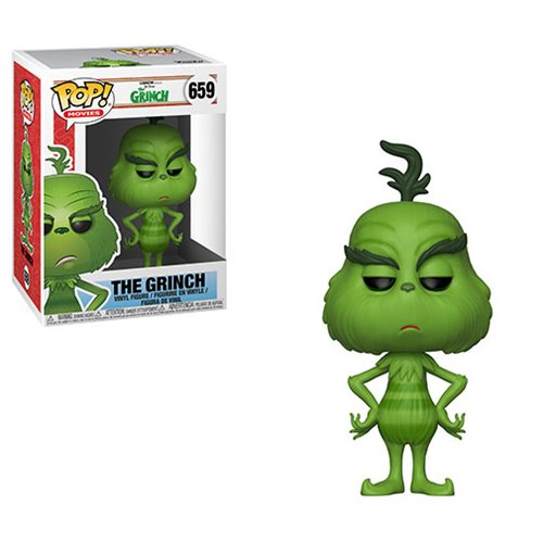 The Grinch Movie The Grinch Pop! Vinyl Figure #659