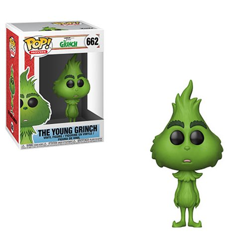 The Grinch Movie The Young Grinch Pop! Vinyl Figure #662