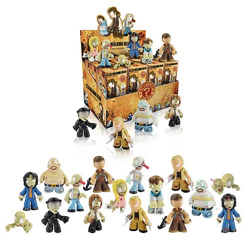 The Walking Dead Mystery Minis Vinyl Mini-Figure Display Box