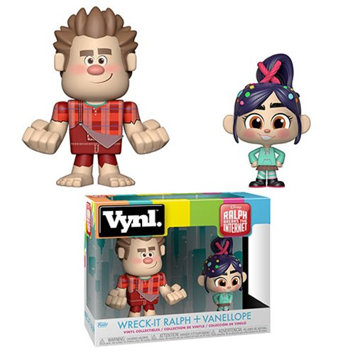 Wreck-It Ralph 2 Ralph and Vanellope Vynl. Figure 2-Pack