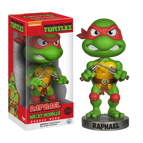 Teenage Mutant Ninja Turtles Raphael Bobble Head