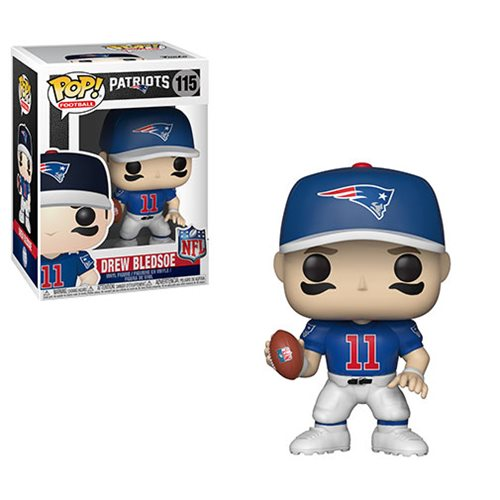 NFL Legends Drew Bledsoe Pop! Vinyl Figure #115