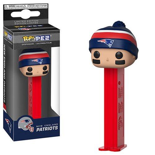 NFL Patriots Beanie Pop! Pez