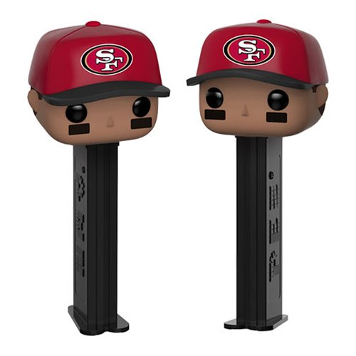 NFL 49ers Cap Pop! Pez