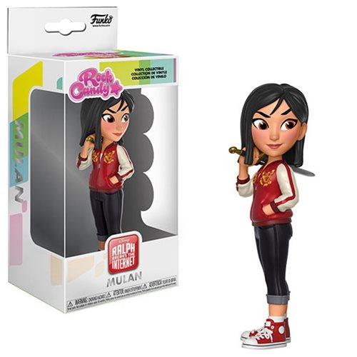 Wreck-It Ralph 2 Comfy Princess Mulan Rock Candy Figure