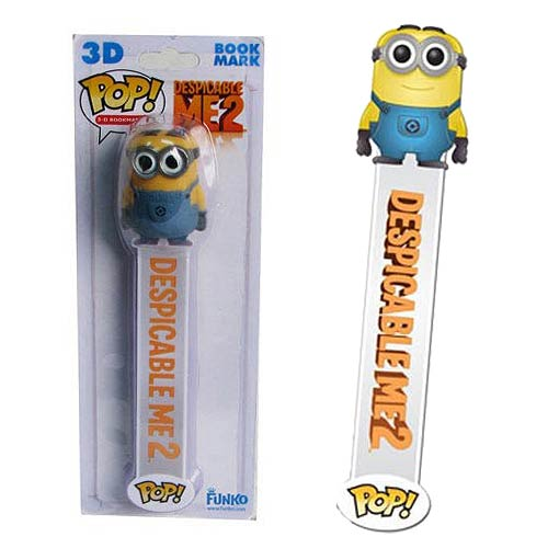 Despicable Me 2 Movie Dave Pop! Vinyl Bookmark