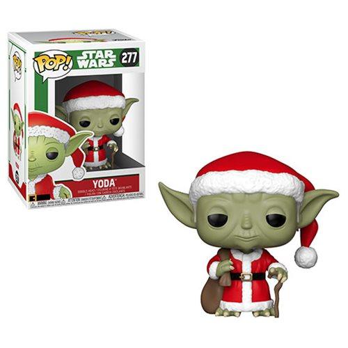 Star Wars Holiday Santa Yoda Pop! Vinyl Figure #277
