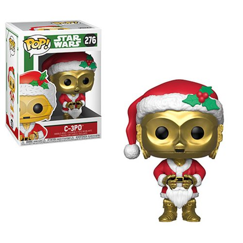 Star Wars Holiday C-3PO as Santa Pop! Vinyl Figure #276