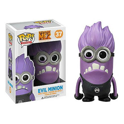 Despicable Me 2 Purple Minion Pop! Vinyl Figure