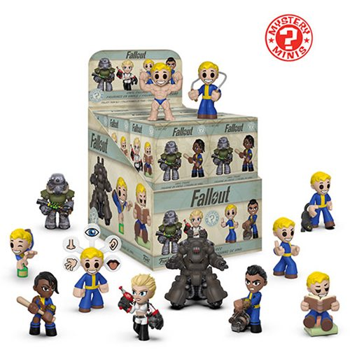 Fallout Mystery Minis Display Case