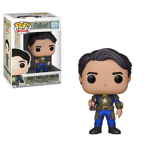 Fallout Vault Dweller Male Pop! Vinyl Figure #371