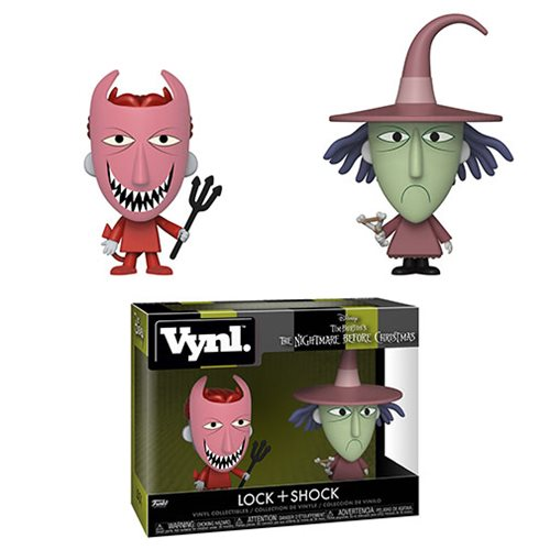NBX Lock and Shock Vynl. Figure 2-Pack