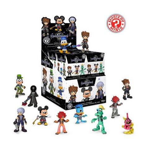 Kingdom Hearts 3 Mystery Minis Random 4-Pack