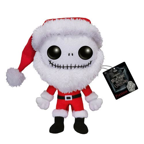 Nightmare Before Christmas Santa Jack Skellington Pop! Plush