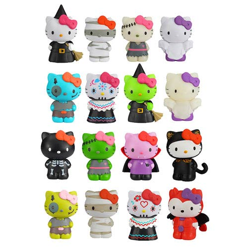 Hello Kitty Horror Mystery Minis Vinyl Mini-Figure 4-Pack
