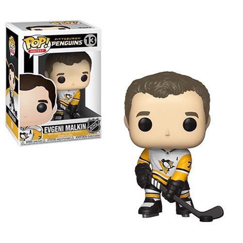 NHL Evgeni Malkin Penguins Away Jersey Pop! Vinyl Figure #13