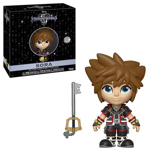 Kingdom Hearts 3 Sora 5 Star Vinyl Figure