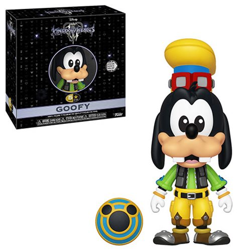 Kingdom Hearts 3 Goofy 5 Star Vinyl Figure