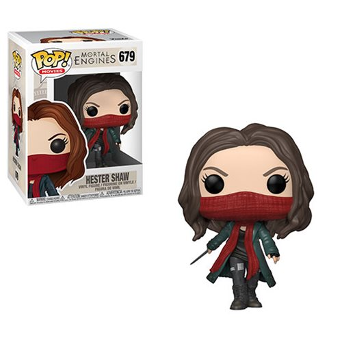 Mortal Engines Hester Shaw Pop! Vinyl Figure #679