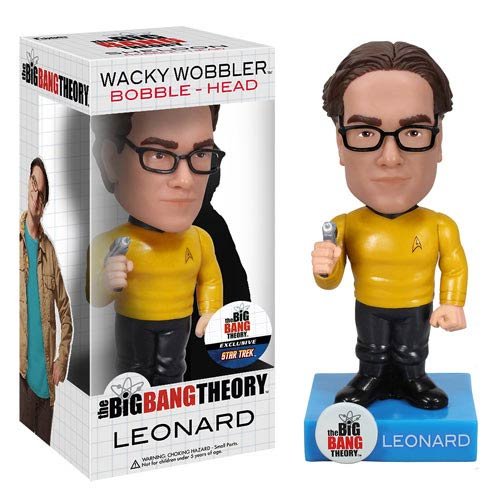 Star Trek Big Bang Theory Leonard Bobble Head