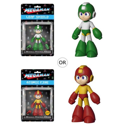 Mega Man Leaf Shield Action Figure, Not Mint