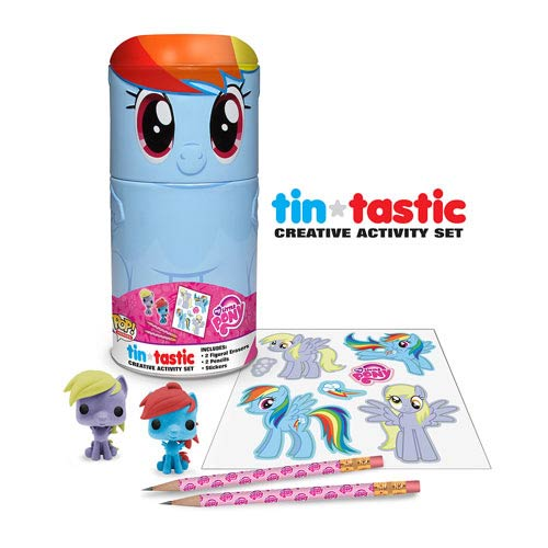 My Little Pony Rainbow Dash Tin-Tastic Pencil Set