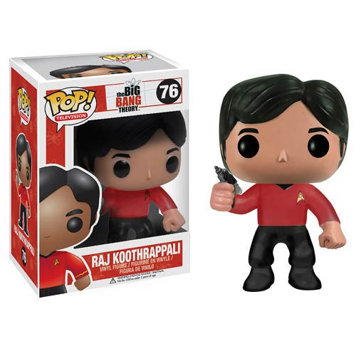 Star Trek Big Bang Theory Raj Pop! Vinyl Figure