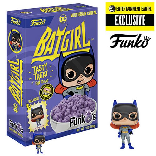 FunkO's Batgirl Pop! Cereal - EE Exclusive