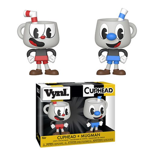 Cuphead and Mugman Vynl. Figure 2-Pack