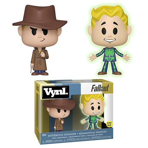Fallout Adamantium and Stranger Vynl. Figure 2-Pack