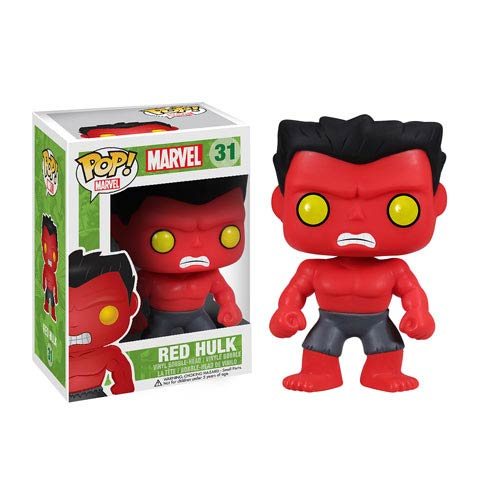 Red Hulk Marvel Pop! Vinyl Bobble Head