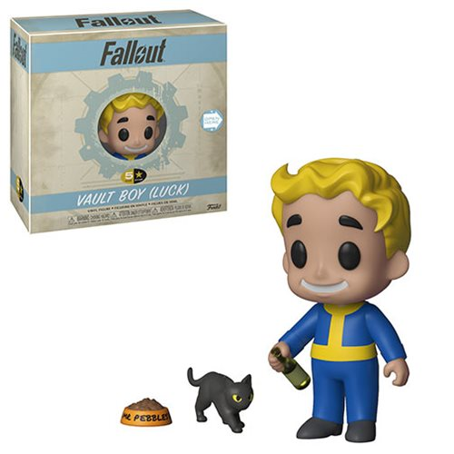 Fallout Vault Boy Luck 5 Star Vinyl Figure