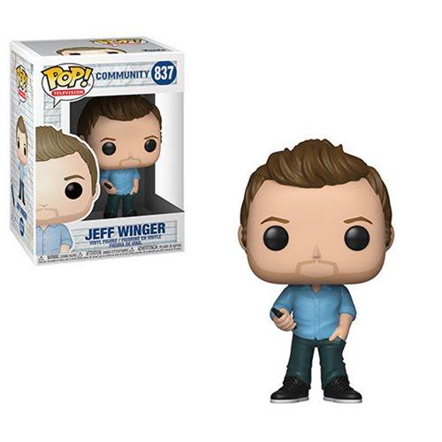 Community Jeff Winger Pop! Vinyl Figure