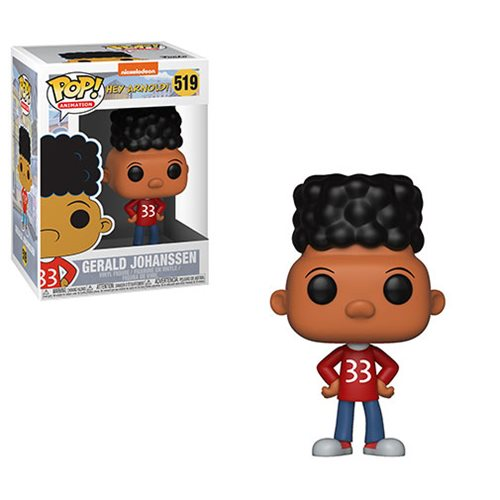 Hey Arnold! Gerald Pop! Vinyl Figure #519, Not Mint