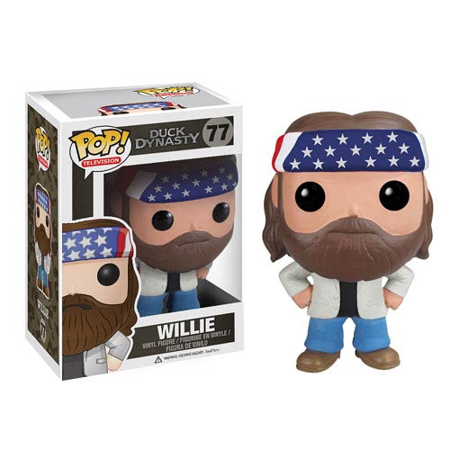 Duck Dynasty Willie Robertson Pop! Vinyl Figure, Not Mint