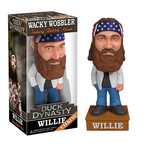 Duck Dynasty Willie Robertson Talking Bobble Head