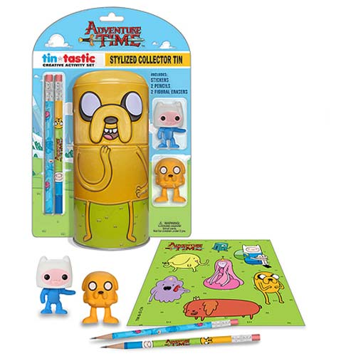 Adventure Time Jake Tin-Tastic Pencil Set with Tin