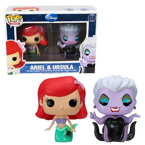 Little Mermaid Ariel & Ursula Pop! Vinyl Mini-Figure 2-Pack