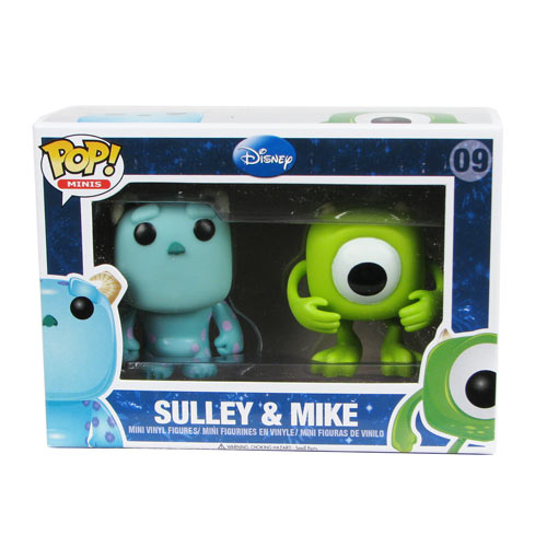 Monsters, Inc. Mike and Sulley Pop! Vinyl Mini-Figure 2-Pack