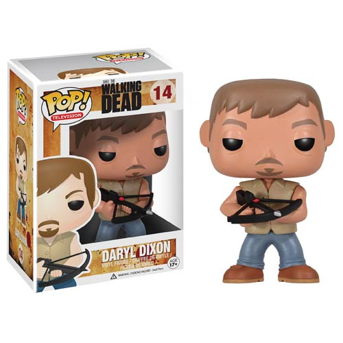 Walking Dead TV Series Daryl Dixon 9-Inch Pop! Vinyl Figure