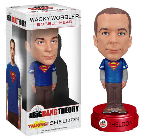 Big Bang Theory Talking Sheldon Cooper Bobble Head