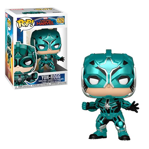 Captain Marvel Star Commander Pop! Vinyl Figure #429
