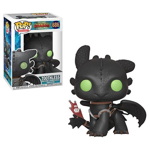 How to Train Your Dragon 3 Toothless Pop! Vinyl Figure #686